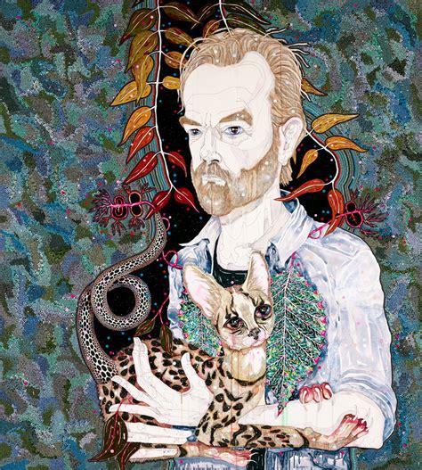 Del Kathryn Barton Artwork by Del Kathryn Barton Hugo Archibald Prize 2013 Art