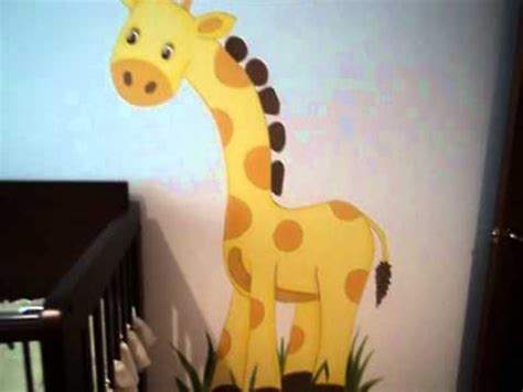 imagenes de jirafas para hacer en foami una jirafa y un mono wmv youtube