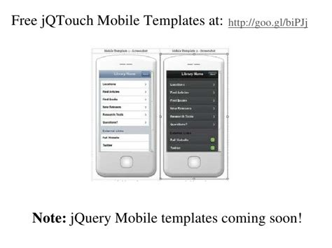 building a simple mobile optimized web app using the
