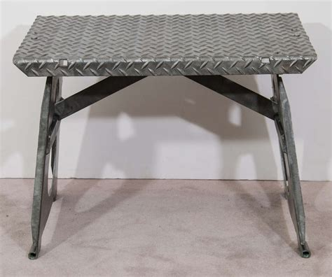 vintage industrial bench vintage industrial steel industrial bench at 1stdibs