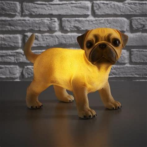 retro pug retro pug puppy light