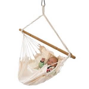 Kids Backyard Play Organic Baby Hammock With Adjustable Positions