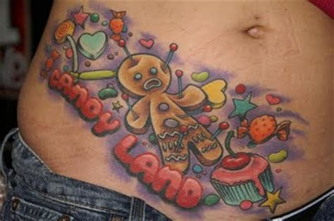 candy apple tattoo j in lotus pose tattoos