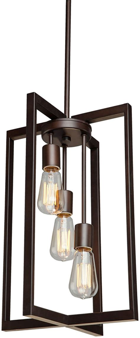 Modern Foyer Lights artcraft ac10413 gastown contemporary rubbed bronze 12 quot foyer lighting ac10413