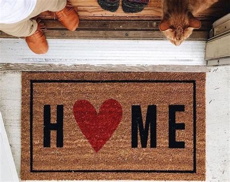 House Welcome Mats 17 Best Ideas About Welcome Home On