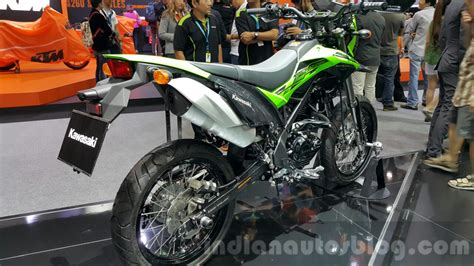 Kgp Cakram Klx Bf Depan new kawasaki d tracker 150 seat at 2015 thailand motor