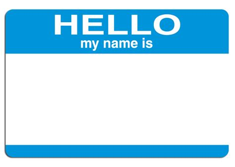 best photos of my name is sticker template hello my name