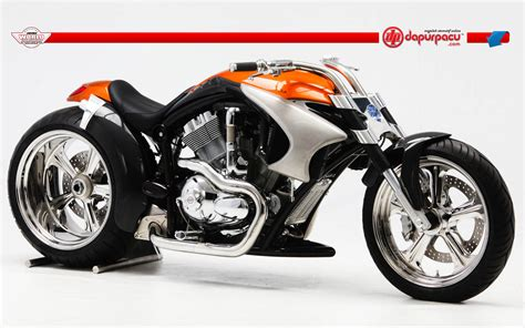 Wallpaper Custom Promo 27 racing bikes seen