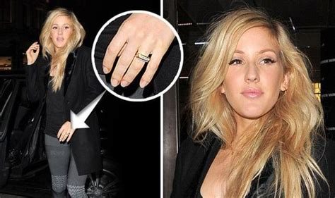 Ellie Goulding Engaged | are ellie goulding and dougie poynter set to get married