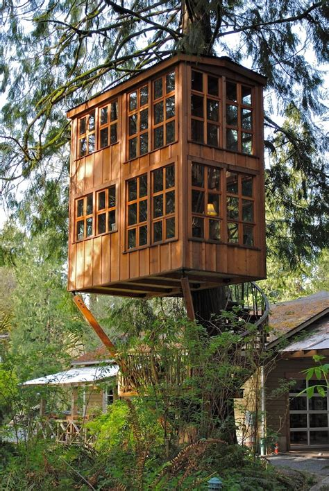 seattle treehouse point featured in animal planets charming treehouses are unique getaway near seattle my