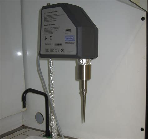 Mba Cell Tech Granular Pulse by Sonicator Up400s Cenimat