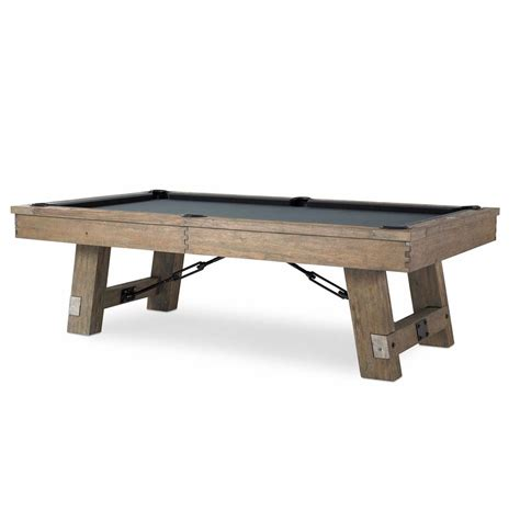 The Isaac Pool Table By Plank Hide Family Leisure
