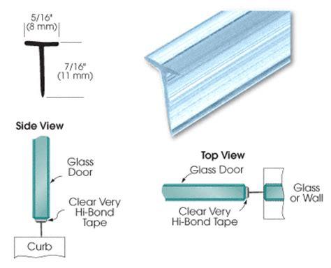 T Shaped Shower Door Seal Shower Doors Hardware