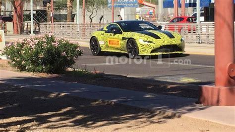 2019 Aston Martin Vantage Spied By Savvy Motor1.com Reader