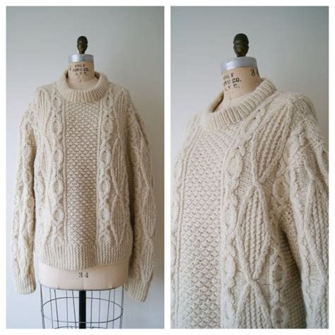 fisherman knit sweater womens fisherman s sweater vintage wool sweater cable