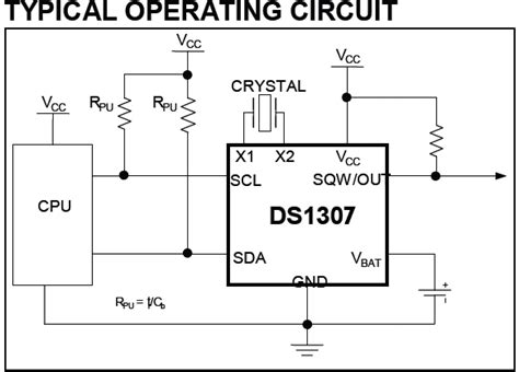 ds1307 circuit diagram real time clock using pic16f877a microcontroller and