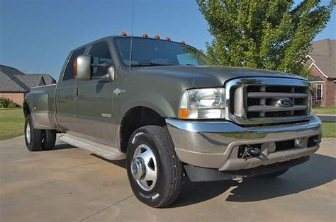 2003 Ford F350 Diesel by Buy Used 2003 Ford F350 Sd Crew Cab Dually 4wd Diesel In