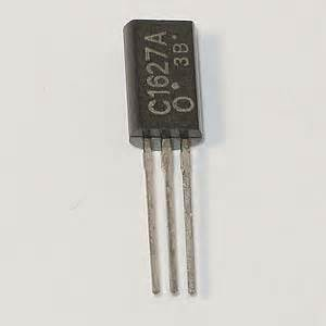 transistor speaker driver electronic goldmine 2sc1627a driver stage voltage lifier transistor toshiba