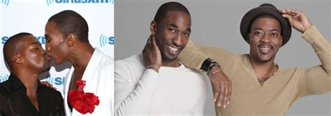 kendrell bowman love is in the air the partners of famous lgbt