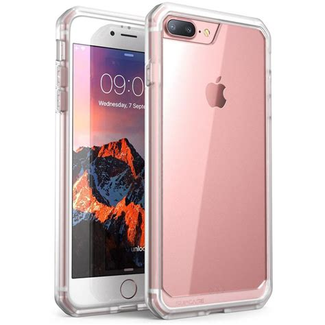 supcase supcase iphone 7 plus unicorn beetle series hybrid clear clear sup iphone7plus