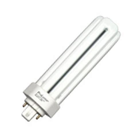 prolume eco shield fluorescent ls halco 44807 triple tube 4 pin base compact fluorescent