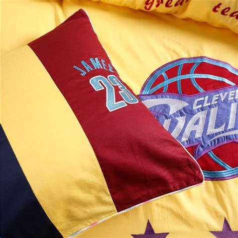Cleveland Cavaliers Bed Set Cleveland Cavaliers Bedding Set Lebron Nba Size Ebeddingsets