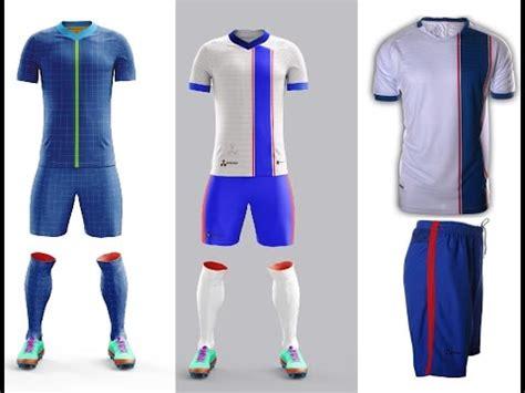 design soccer jersey online free custom soccer uniforms kit design and creation youtube