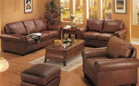 brown leather sofa living room design too much brown furniture a national epidemic lorri