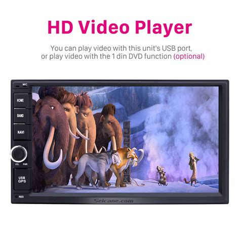 2 Din Universal Radio Hd Touchscreen Android 7 1 Gps android 7 1 2 din universal radio hd touchscreen gps