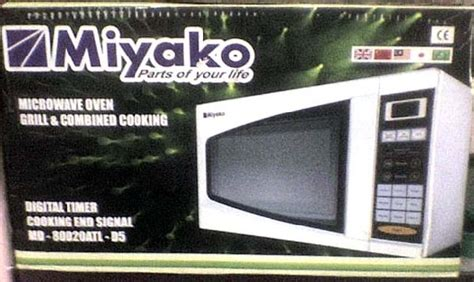 Microwave Miyako new miyako microwave oven for sale 1 month used clickbd