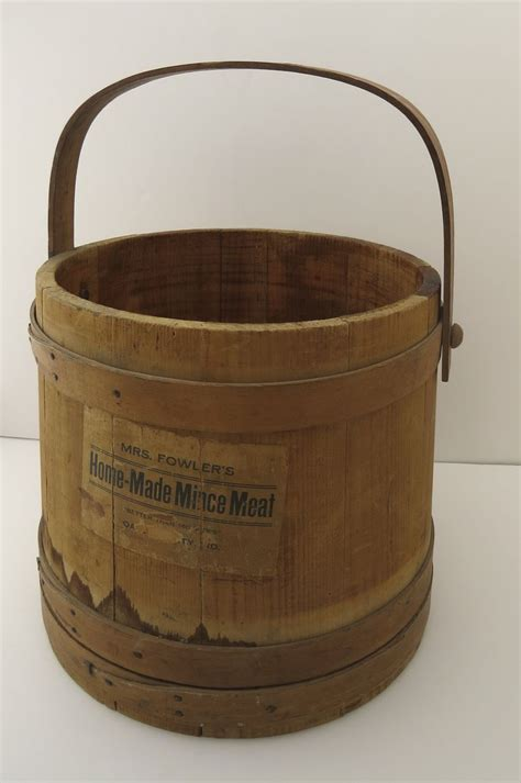 swing meat mince meat swing handle bucket firkin from blacktulip on