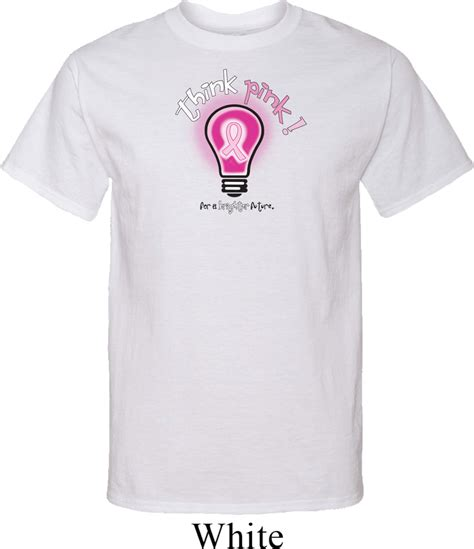 mens breast cancer awareness shirt think pink t