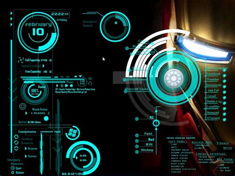 iron man technology wallpaper gallery