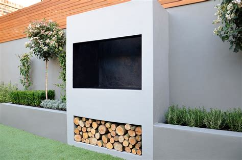 Modern Outdoor Fireplace Designs by Outdoor Fireplace Bbq Raised Beds Modern Garden