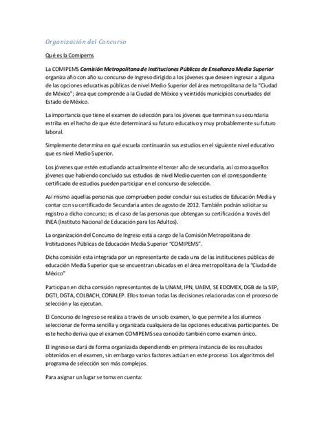 preguntas del examen para subdirector academico ems secretos del examen comipems