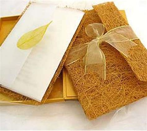 Handmade Materials - goes wedding 187 handmade wedding invitations design with