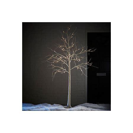 b q diy store pre lit trees 6ft white birch white pre lit tree departments diy at b q