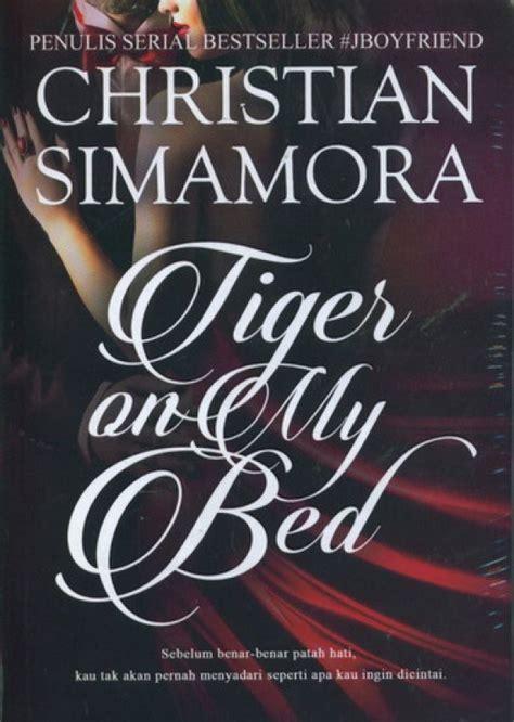 Buku Novel Roro Jonggrang bukukita tiger on my bed cover baru
