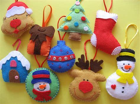 adornos para el rbol de navidad con material reciclado lucky 180 s felt adornos de navidad