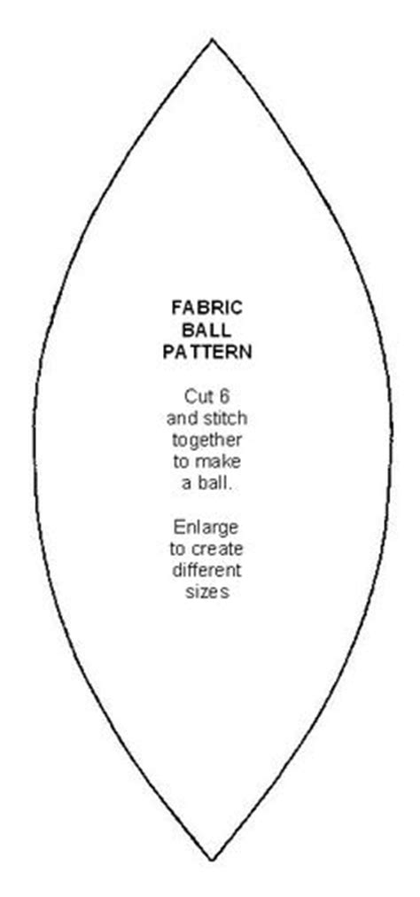 pattern for fabric ball 1000 images about pattern on pinterest molde feltro