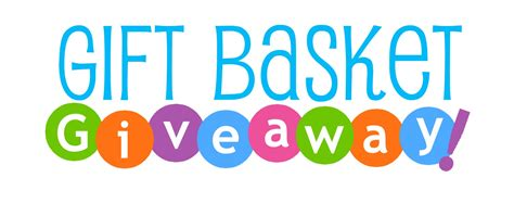 Gift Giveaway - gift basket drawing