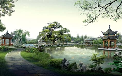 asian landscape wallpaper wallpapersafari