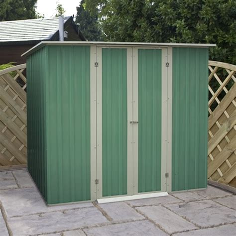 6 X 4 Garden Shed by 6 X 4 Waltons Pent Metal Shed