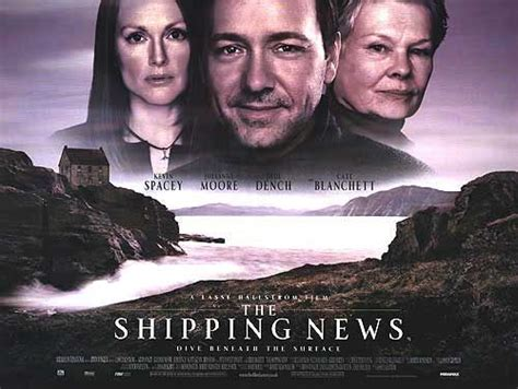 the shipping news the shipping news movie poster 2 of 4 imp awards