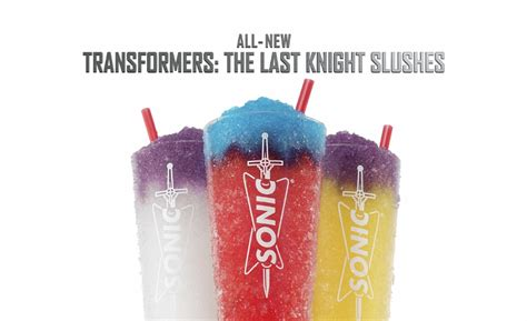 Sonic Transformers Sweepstakes - sonic unveils transformer inspired slushes 2017 05 30 beverage industry