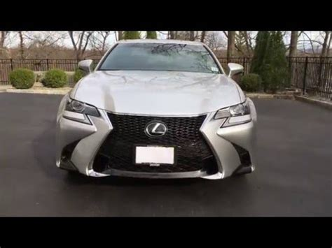 lexus gs350 f sport interior 2016 lexus gs350 f sport in depth view of exterior and