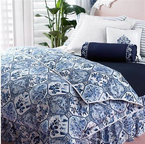 Ralph Blue And White Comforter by Ralph Blue And White Bedding