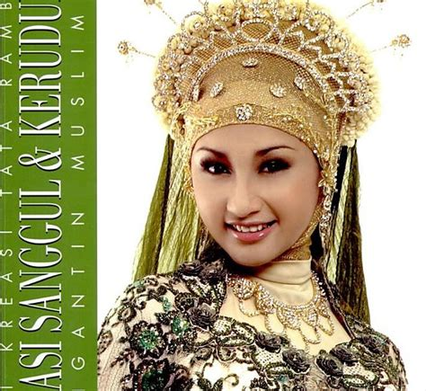 Inspirasi Rona Kebaya Pengantin Soft Cover my book store 297 seri kreasi tata rambut kreasi sanggul dan kerudung pengantin muslimah