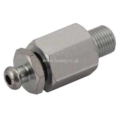 Hydraulic Adaptor bspp bleed valve hydraulic adaptor p22140875 163 23 00