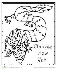 preschool coloring pages chinese new year 1000 images about chinese new year creative on pinterest